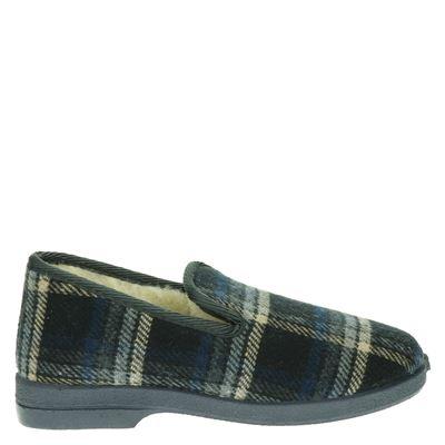 Cruan heren pantoffels grijs