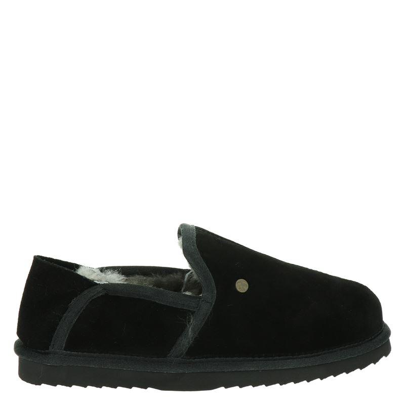 Warmbat Australia Lock - Pantoffels - Zwart