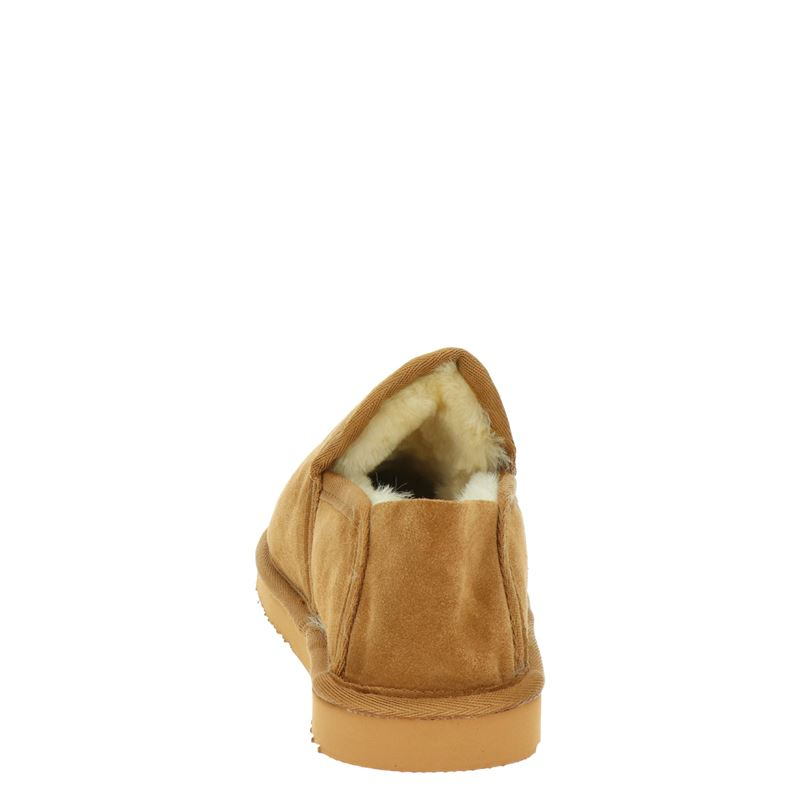 Warmbat Australia Lock - Pantoffels - Cognac