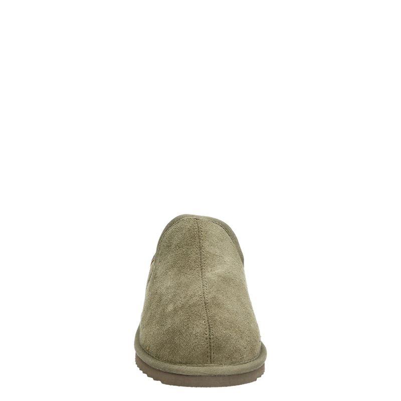 Warmbat Australia Lock - Pantoffels - Groen