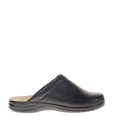 Flexis heren pantoffels zwart