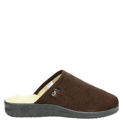 Landgraaf heren pantoffels bruin