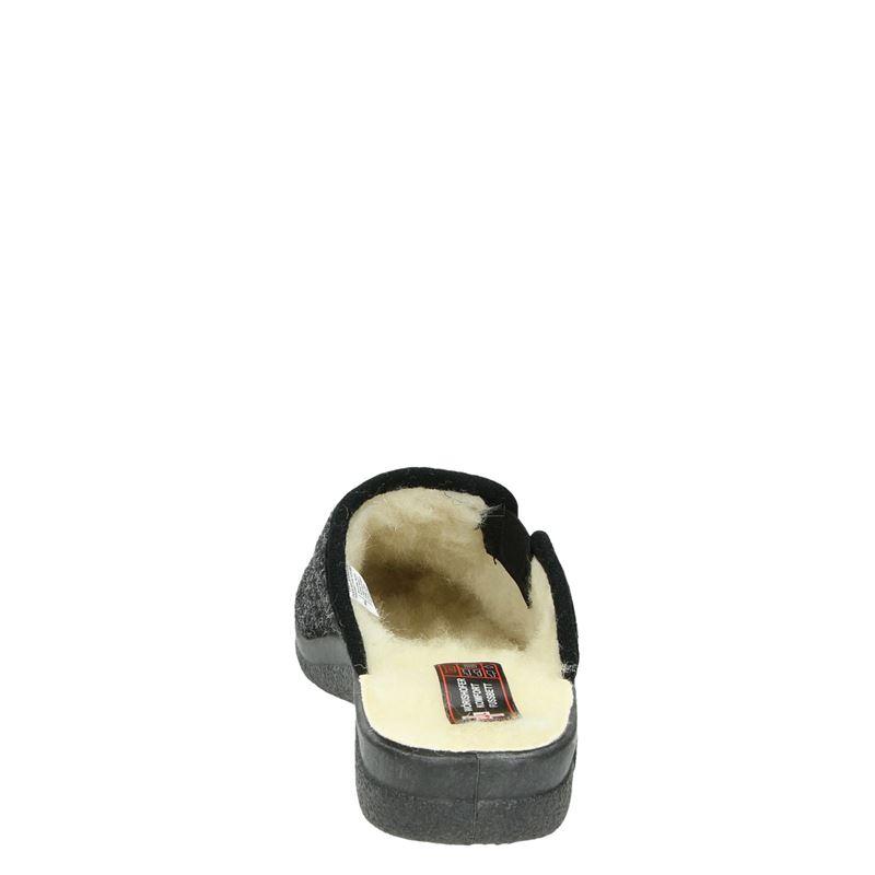 Nadelfilz - Pantoffels - Grijs