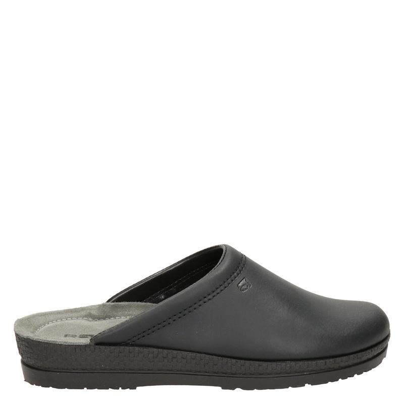 Rohde leren pantoffels zwart online kopen
