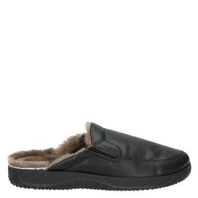 Rohde heren pantoffels zwart