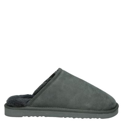 Nelson heren pantoffels grijs