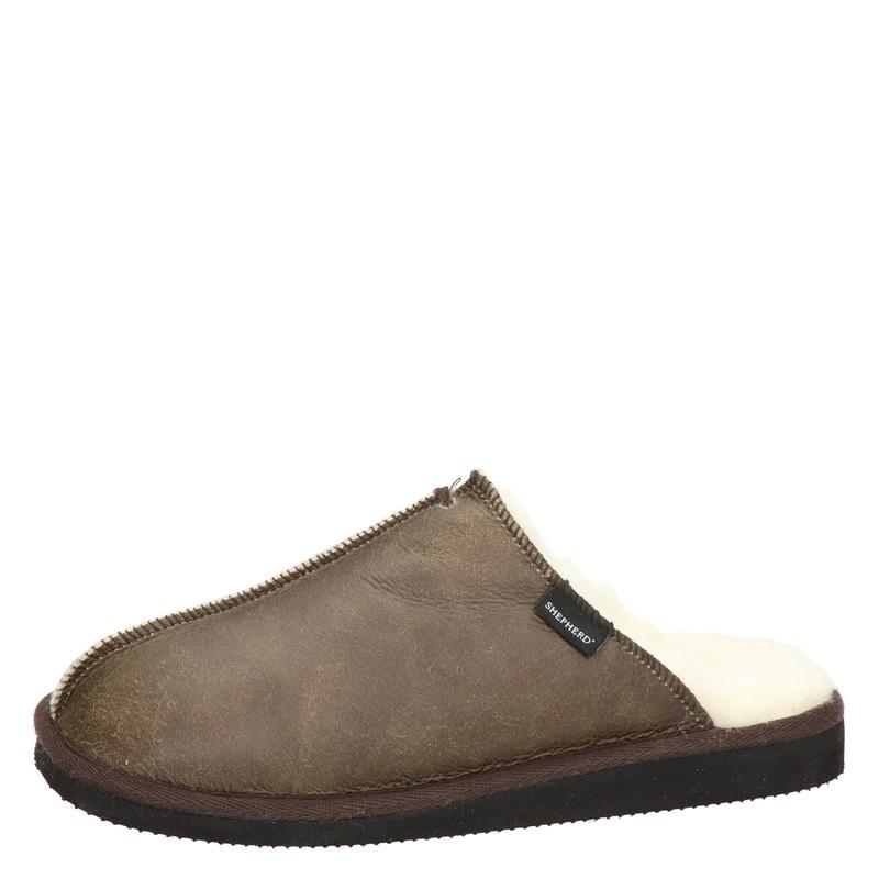 Shepherd Hugo - Pantoffels - Bruin