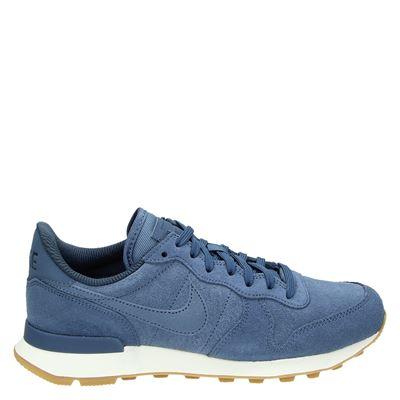 Nike Internationalis lage sneakers blauw