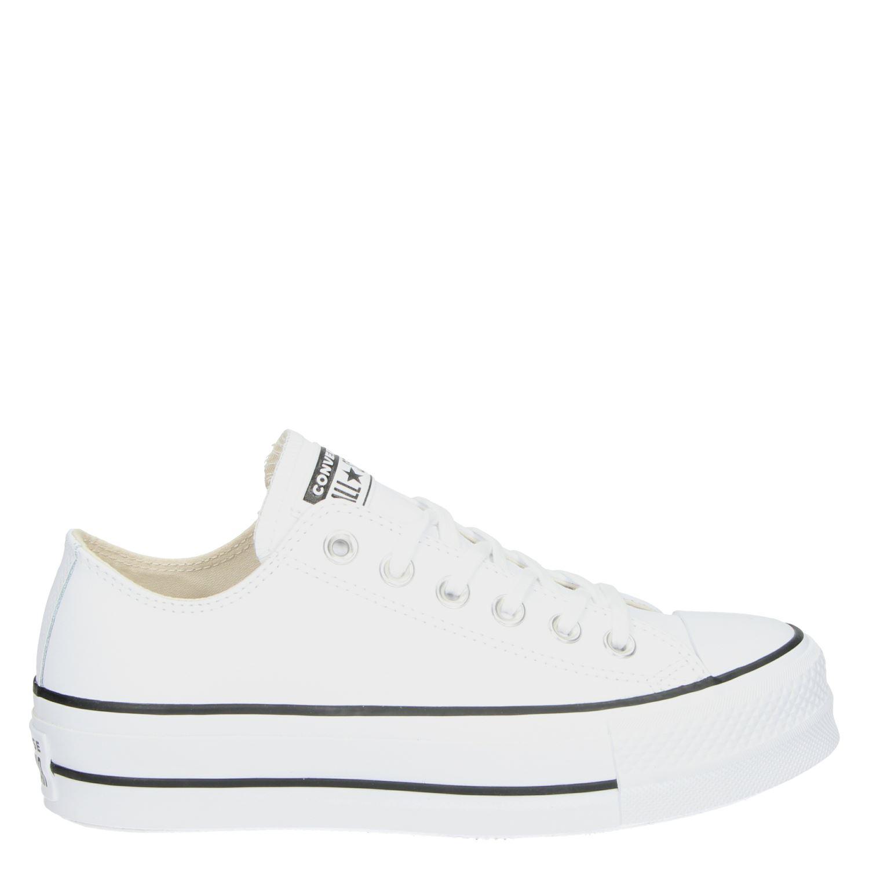 7347443da44 Converse Chuck Taylor dames platform sneakers wit