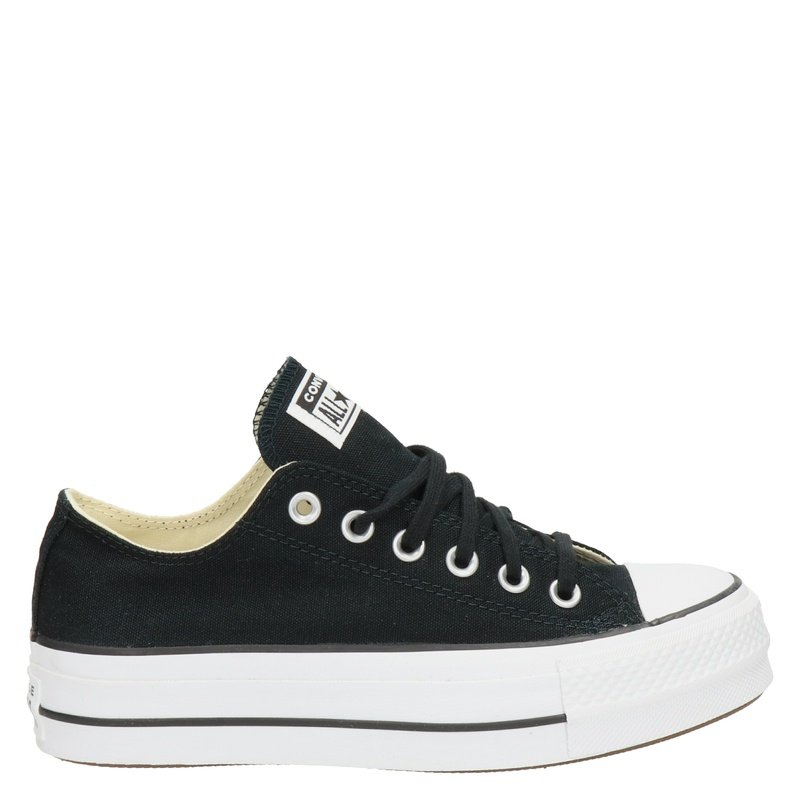 Converse Chuck Taylor  All Star Lift - Platform sneakers - Zwart