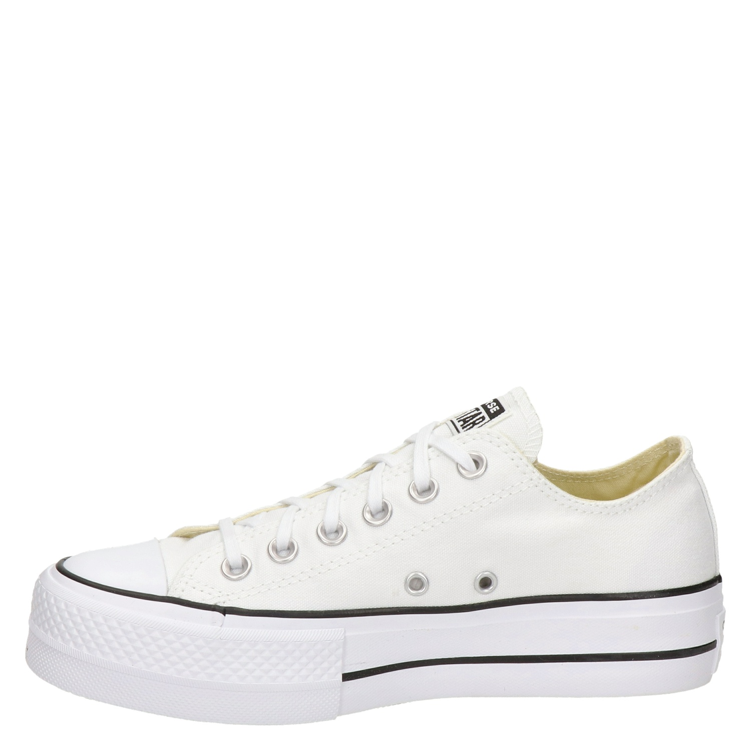 1a4275111a0 Converse Chuck Taylor All Star Lift dames platform sneakers wit