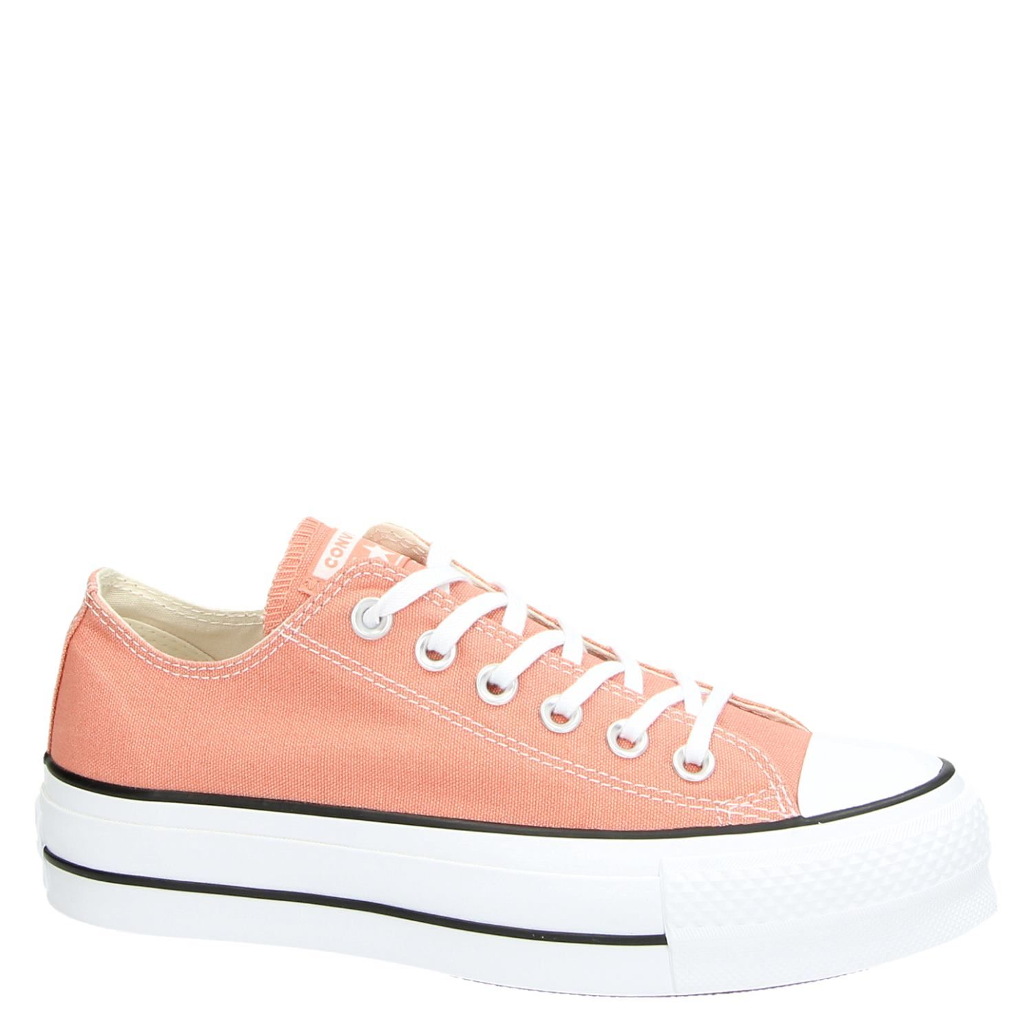 Converse Chuck Taylor All Star Lift dames platform sneakers roze