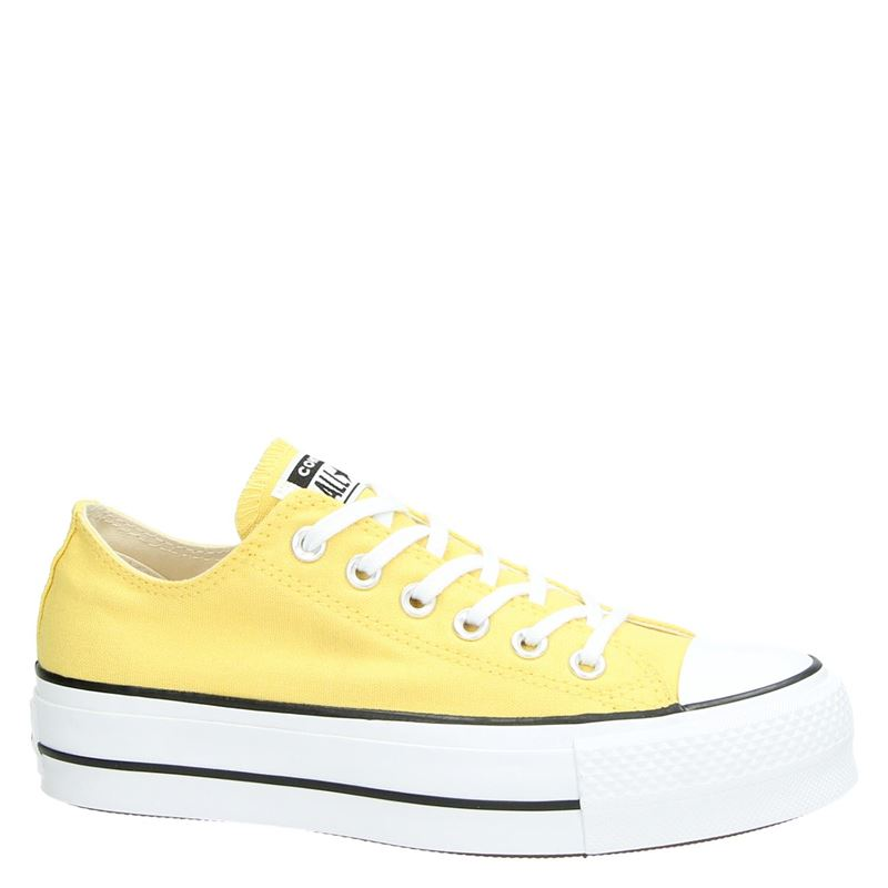 Converse Chuck Taylor  All Star Lift - Platform sneakers - Geel