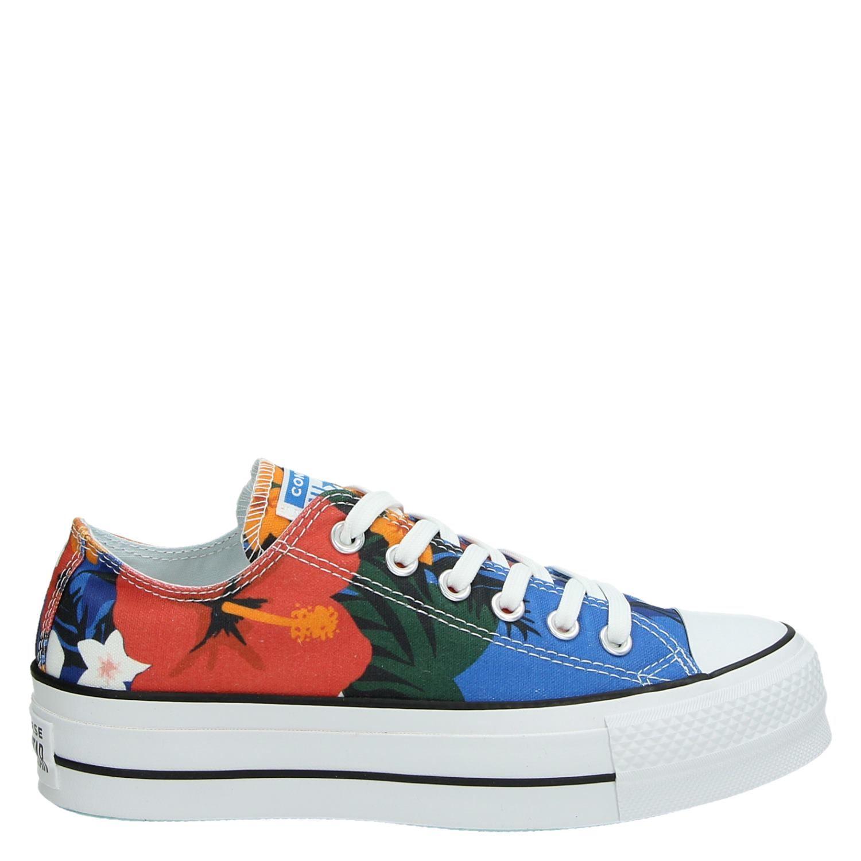 ffb80afcb39 Converse Chuck Taylor All Star Lift - Platform sneakers - Blauw -  Shoemixx.nl