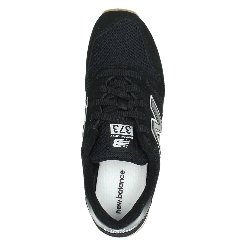 New Balance 373 dames lage sneakers zwart