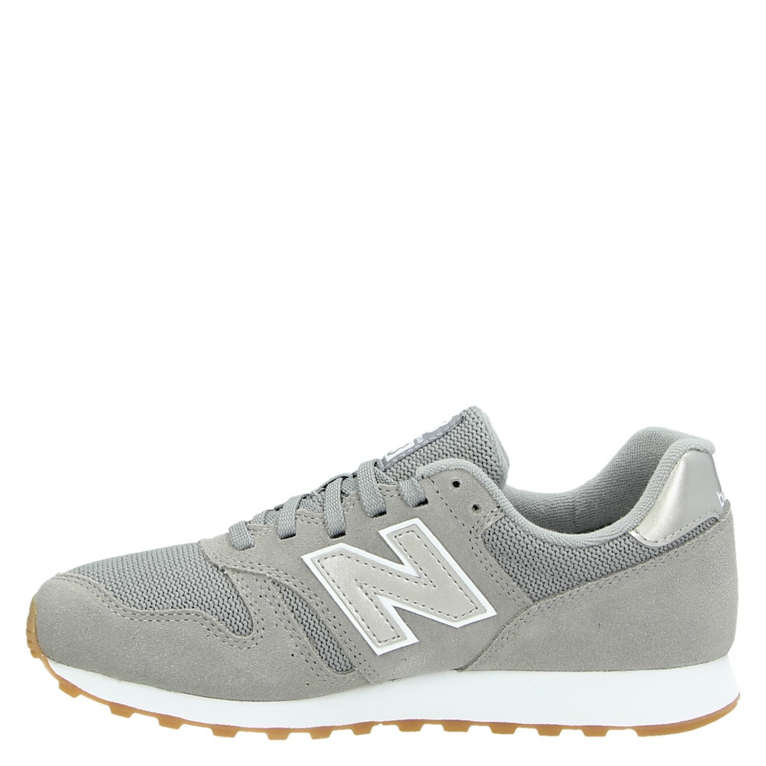New Balance 373 dames lage sneakers grijs
