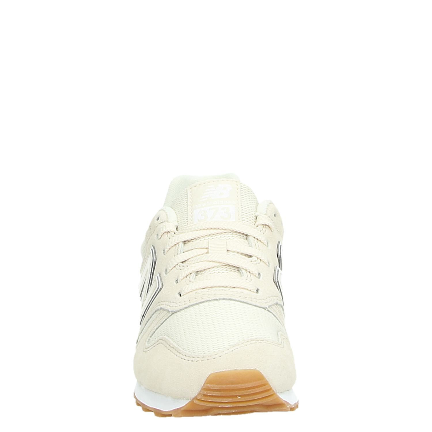 New Balance 373 dames lage sneakers ecru