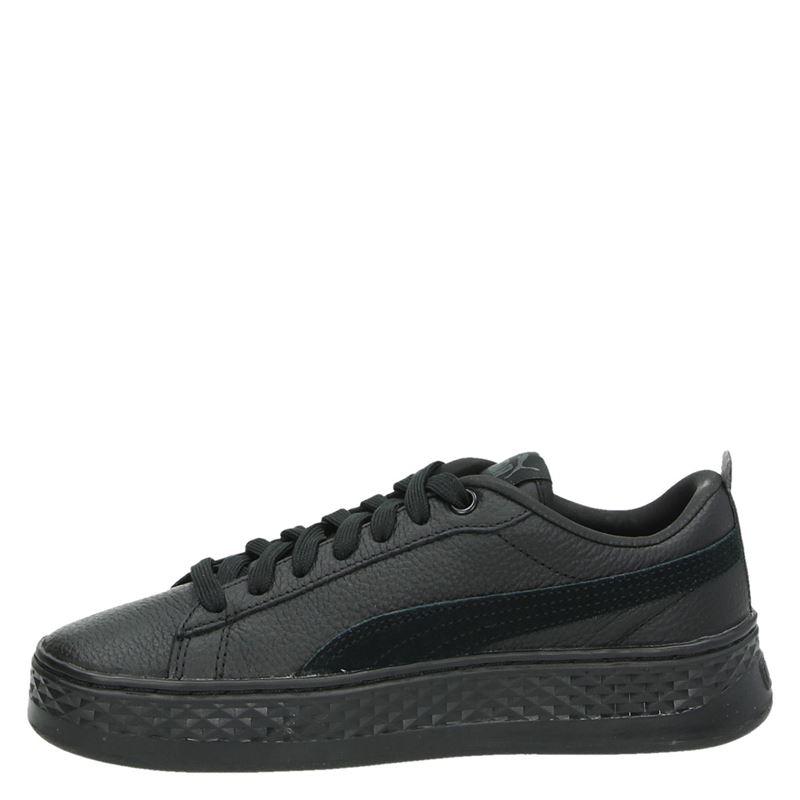 Puma Smash Platform - Lage sneakers - Zwart