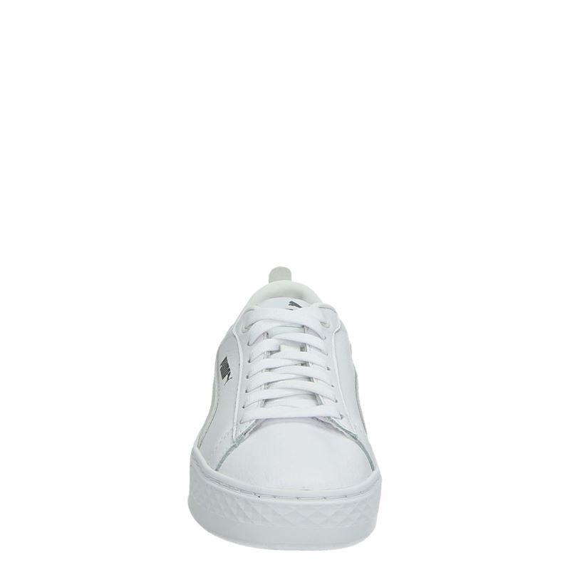 Puma Smash Platform - Lage sneakers - Wit