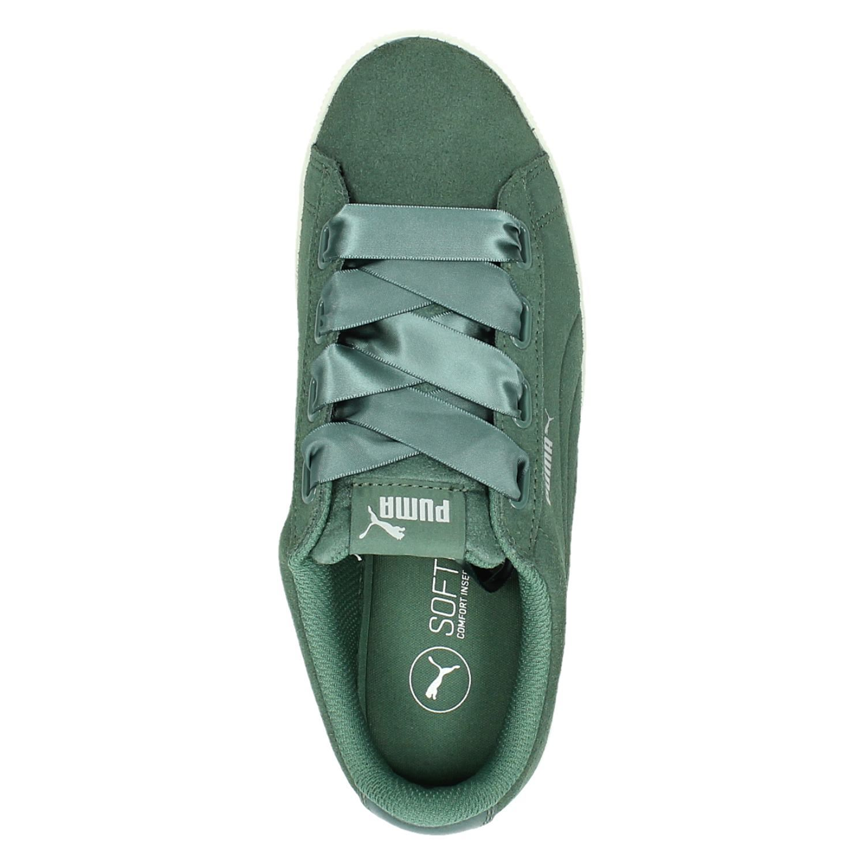 3c621c4851d Puma Vikky Platform Ribbon dames lage sneakers. Previous