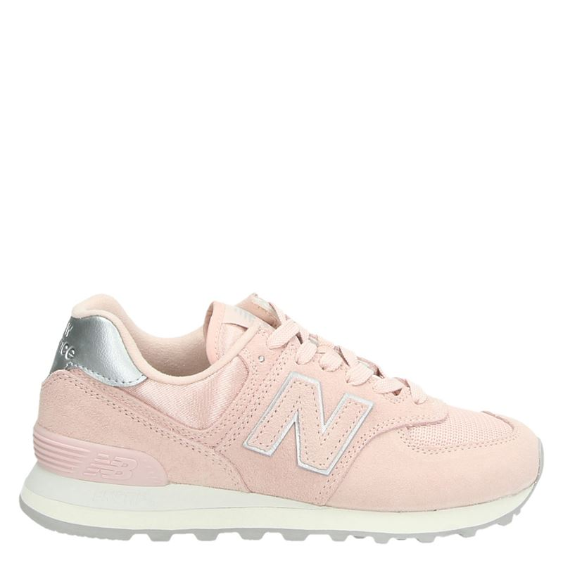 New Balance 574 - Lage sneakers - Roze