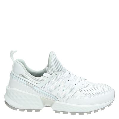 New Balance dames lage sneakers wit