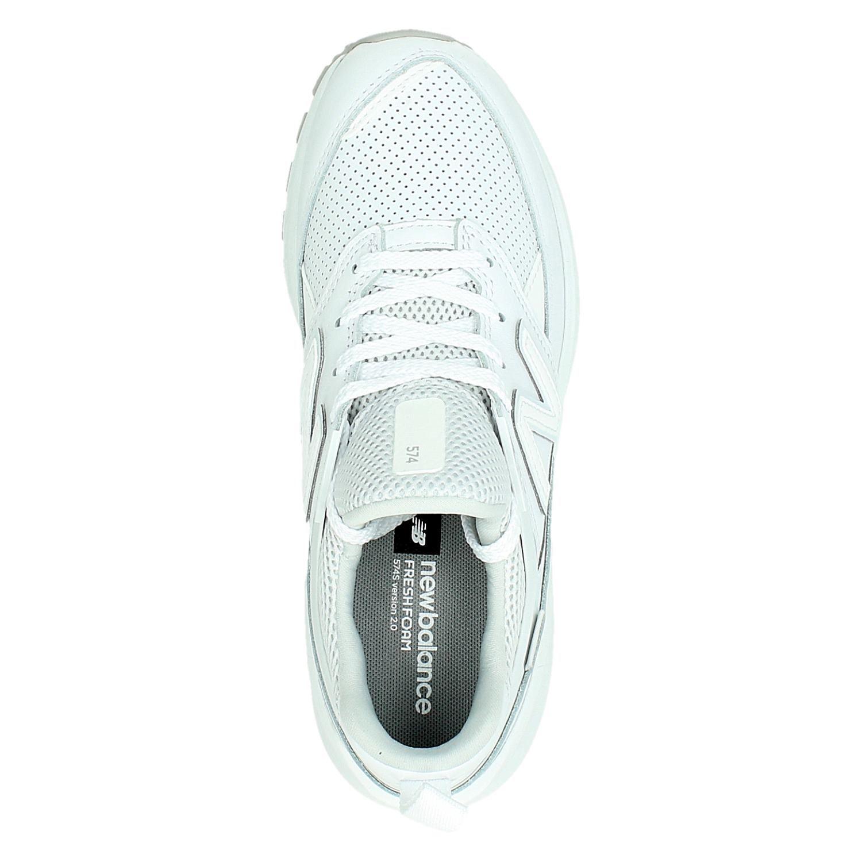 new balance sneakers 574 dames leer