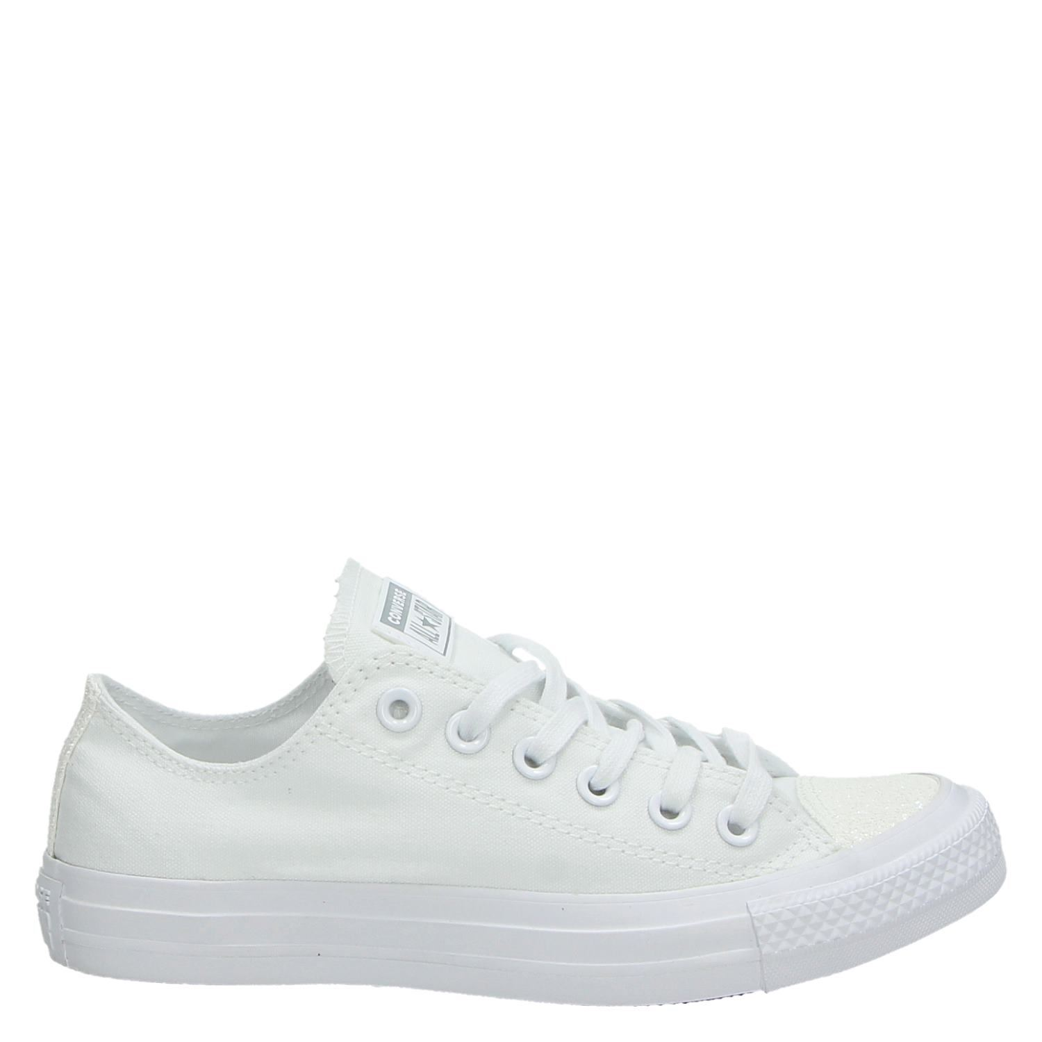 converse sneakers dames wit