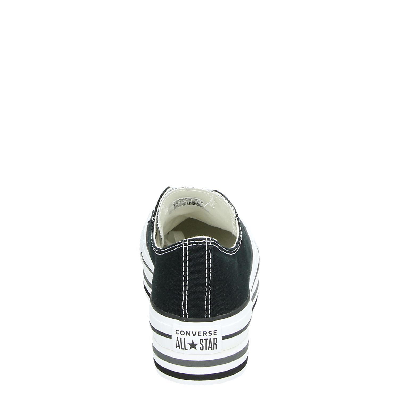 Converse Platform - Lage sneakers voor dames - Zwart Md9t0u2