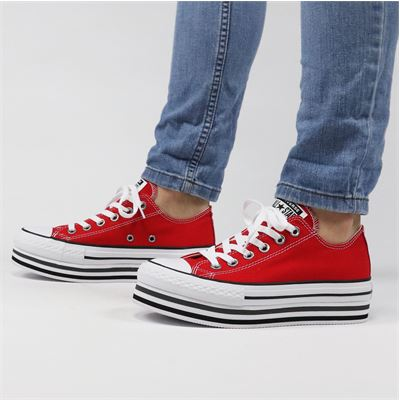 Converse dames sneakers rood