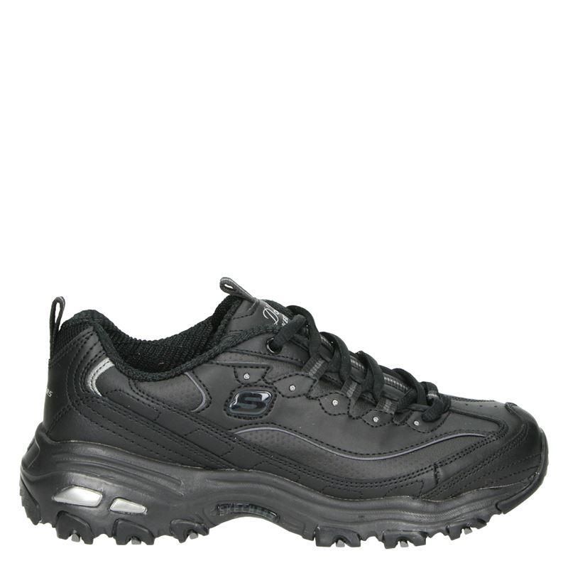 Skechers D Lites - Dad Sneakers - Zwart