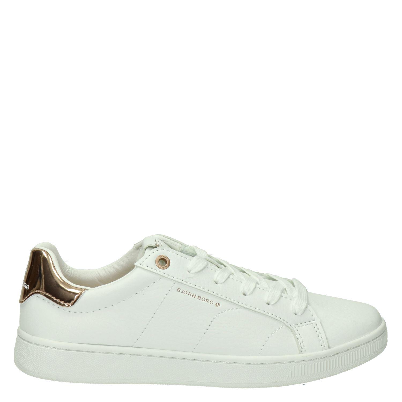 e8cef51d100 Bjorn Borg dames lage sneakers wit