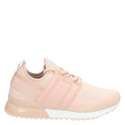 Bjorn Borg dames sneakers roze