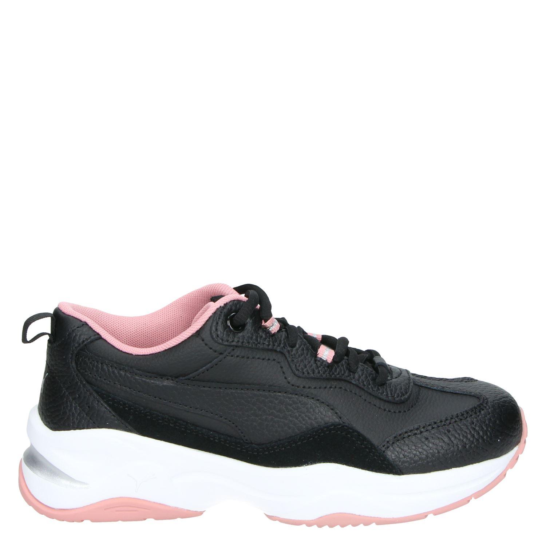 Puma Cilia lux Lage sneakers voor dames Zwart Nelson.nl