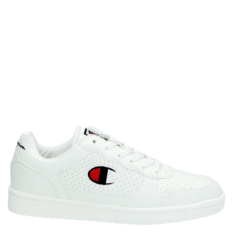 0081d4093d8 Champion Chicago Basket dames lage sneakers wit
