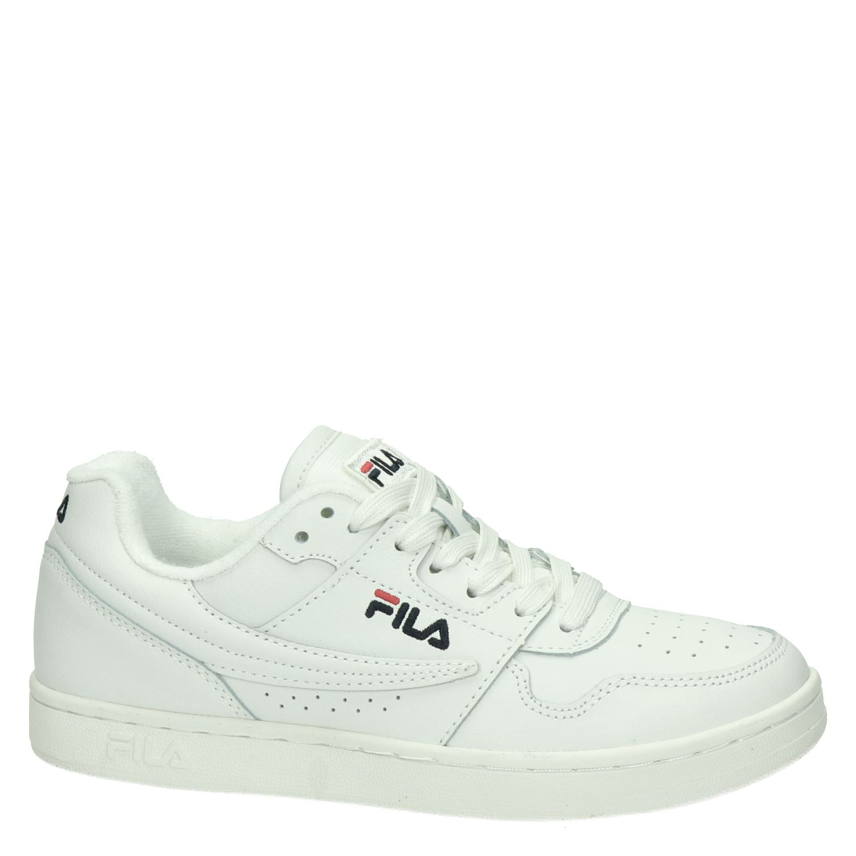 kosten charme Britse winkel meer foto's Fila Arcade Low Women dames lage sneakers wit