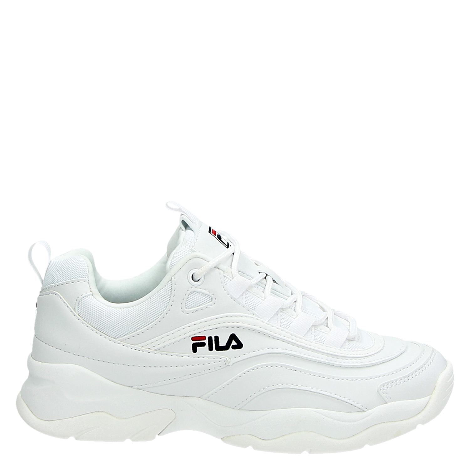 a4db8784117 Fila Ray low dames lage sneakers wit