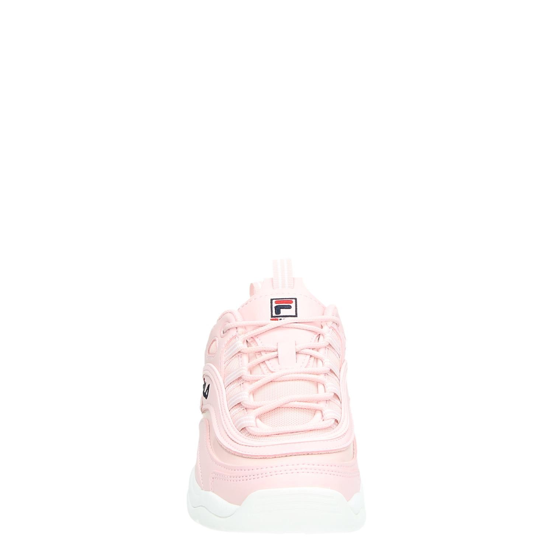 Fila Ray low dames dad sneakers roze