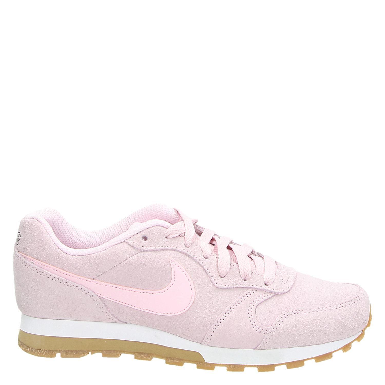 nike sneakers dames roze