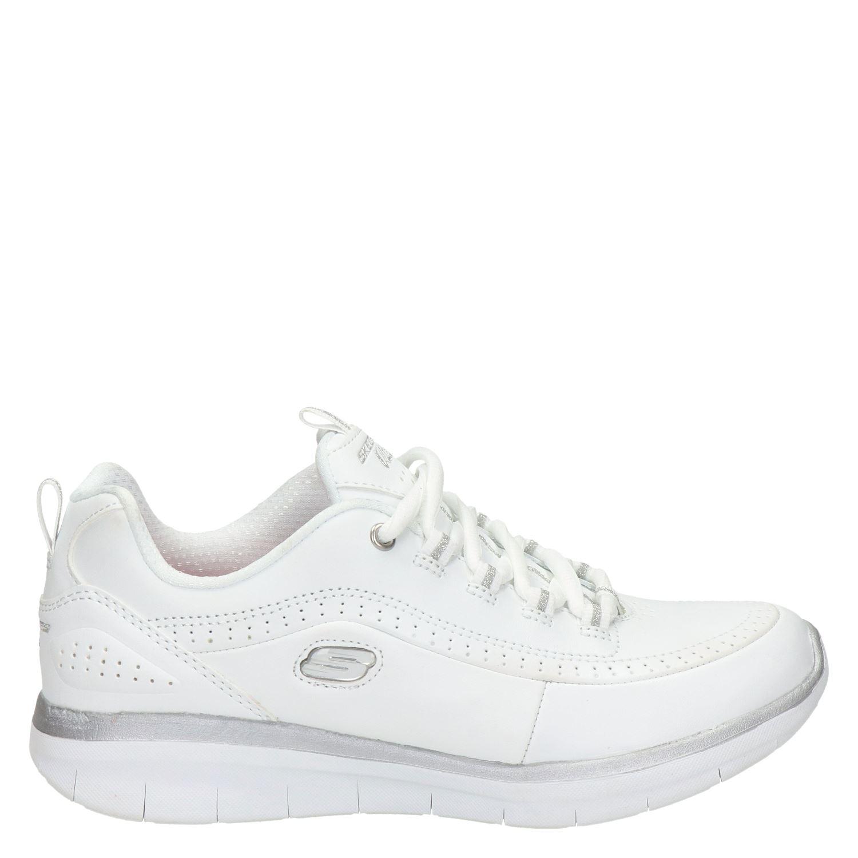 Werkschoenen Slagerij Dames.Wit Wit Lage Skechers Dames Sneakers Sneakers Dames Lage Skechers Pzhqhv