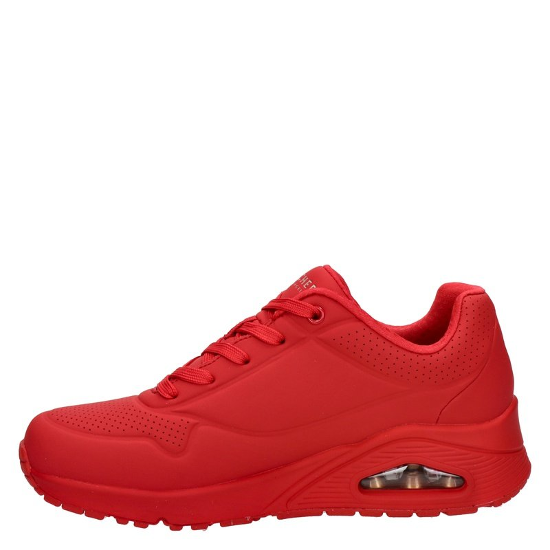 Skechers Stand On Air - Lage sneakers - Rood