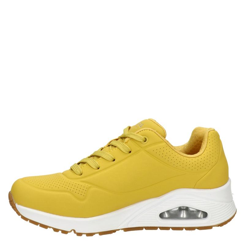 Skechers Street Uno - Lage sneakers - Geel