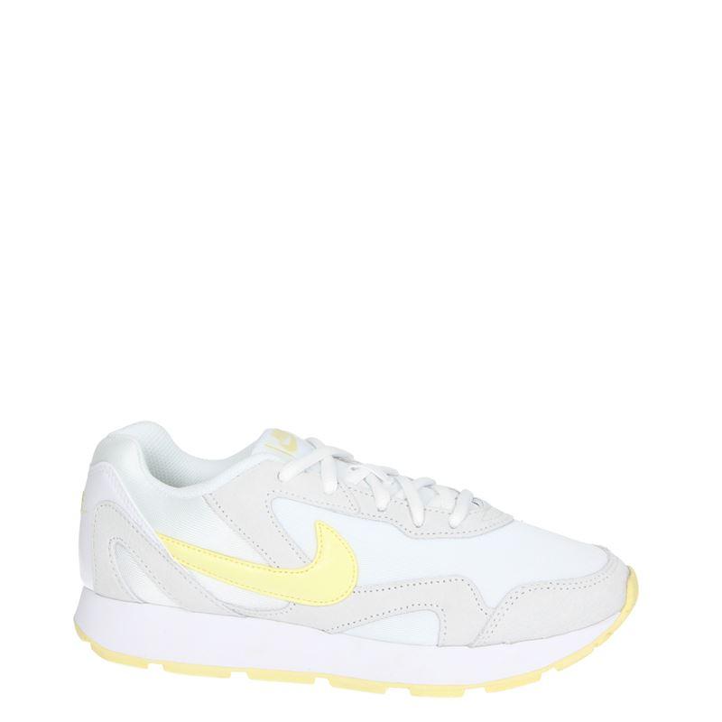 Nike Delfine - Lage sneakers - Wit