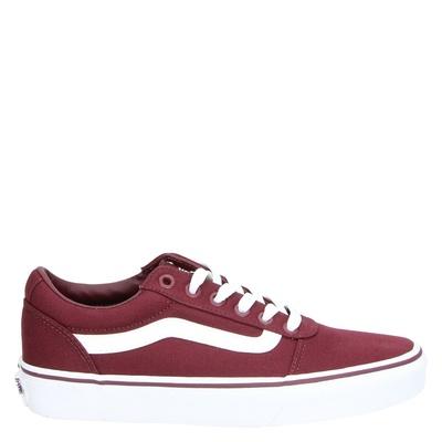 Vans dames sneakers rood