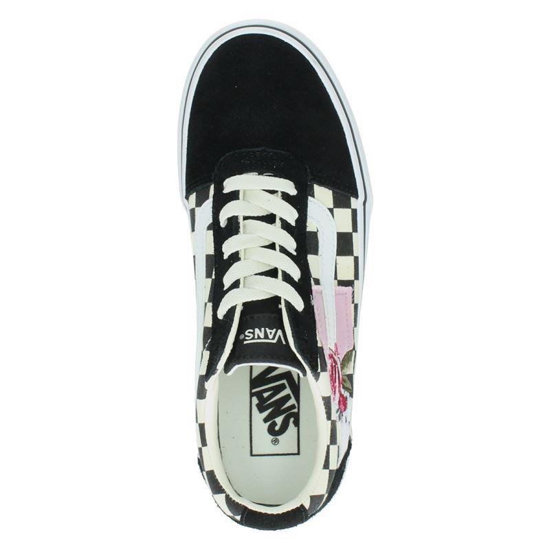 Vans Ward Platform Patchwork - Lage sneakers - Grijs