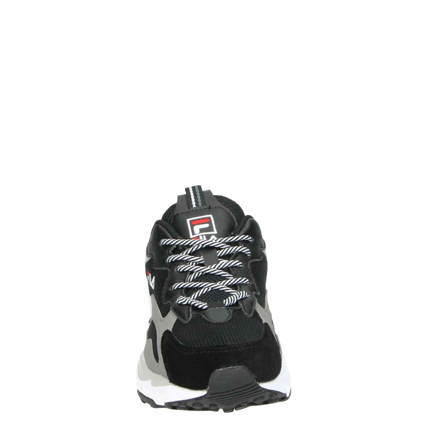 Fila Ray Tracer Low dames dad sneakers zwart