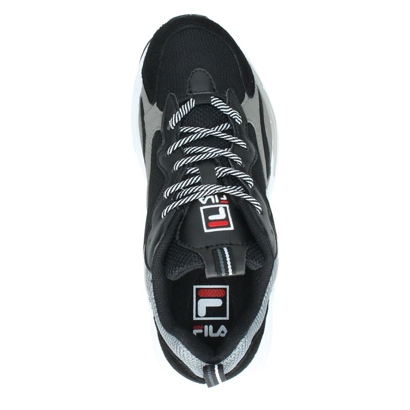 Fila Ray Tracer Low - Dad Sneakers - Zwart
