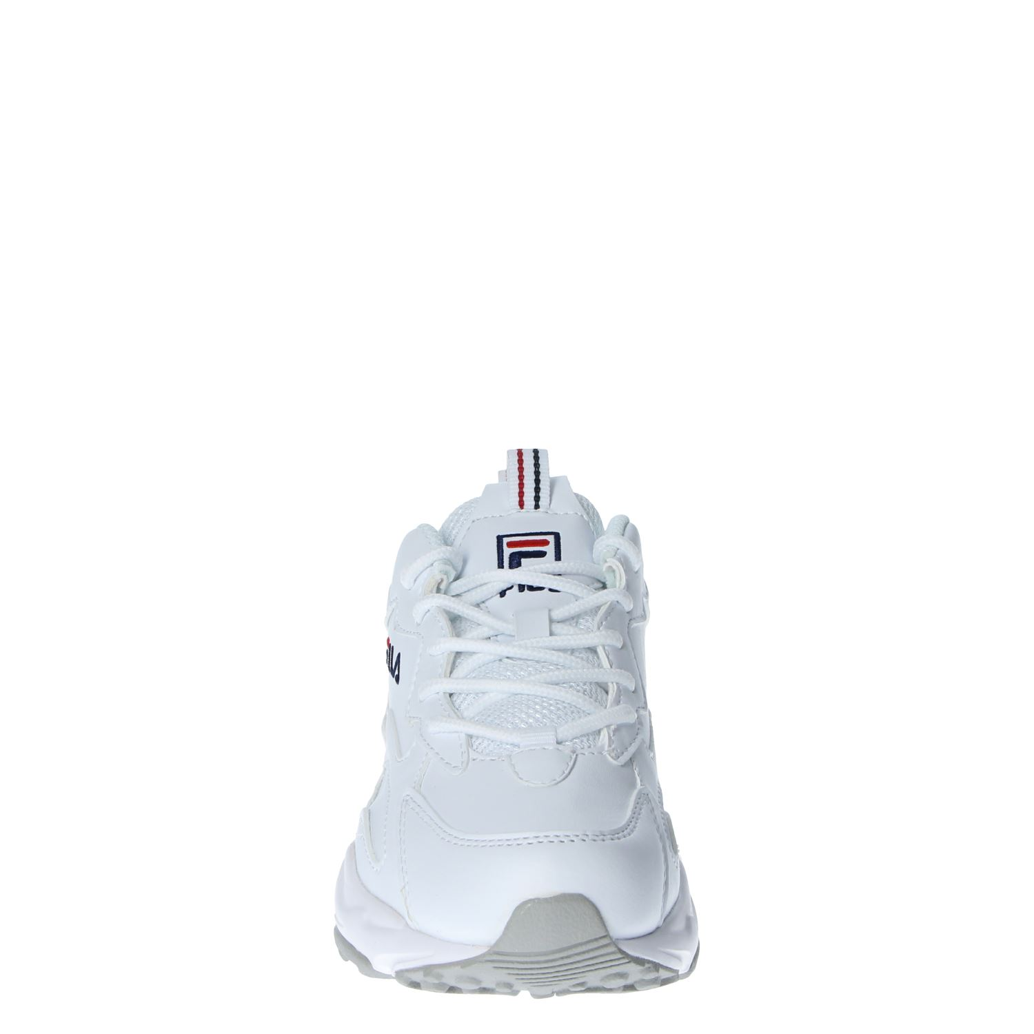 Fila Ray Tracer Low dames dad sneakers wit