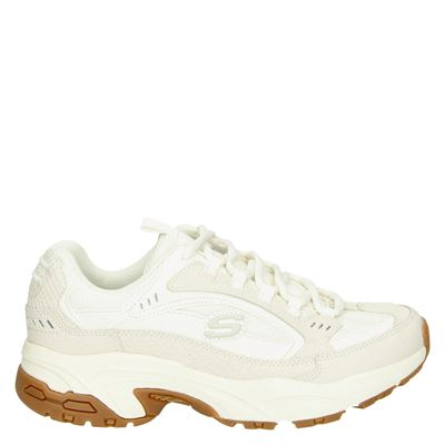 Skechers dames sneakers ecru