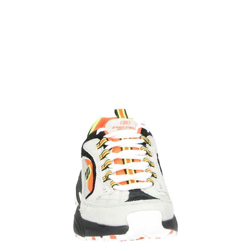 Skechers Stamin Cross Road - Dad Sneakers - Grijs